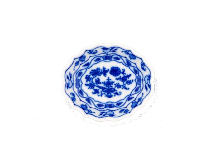 Miska na cukr 11 cm, cibulák, Český porcelán