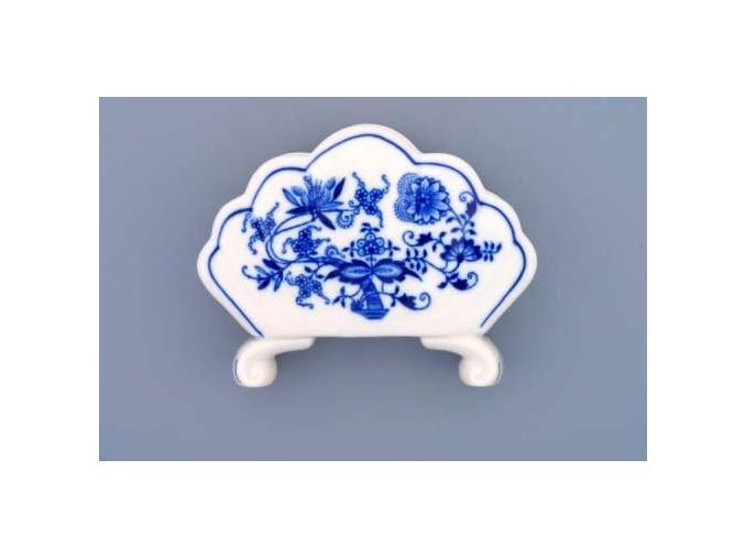 Stojánek na ubrousky  10 cm, cibulák, Český porcelán