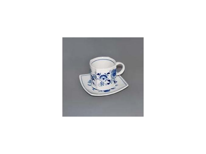 Šálek s podšálkem Vito 0,21 l, cibulák, Český porcelán