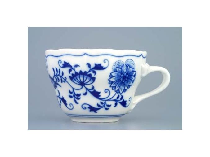 Šálek vysoký 0,25 l, cibulák, Český porcelán