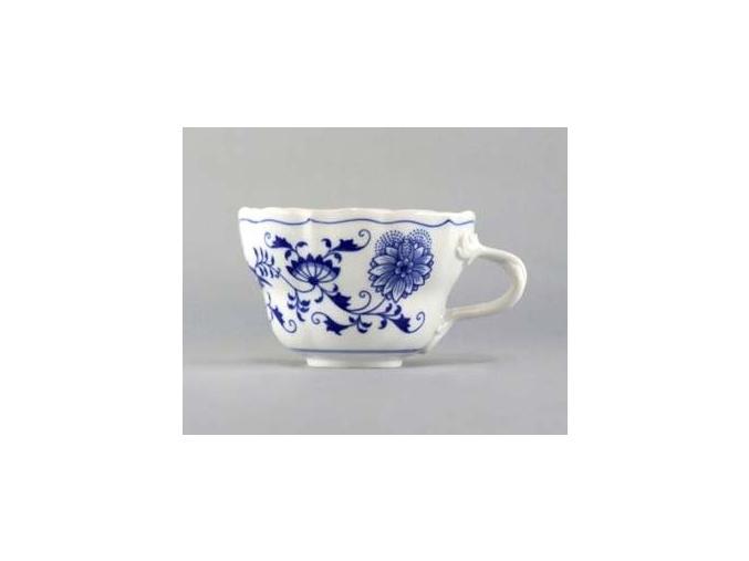 Šálek vysoký 0,40 l, cibulák, Český porcelán