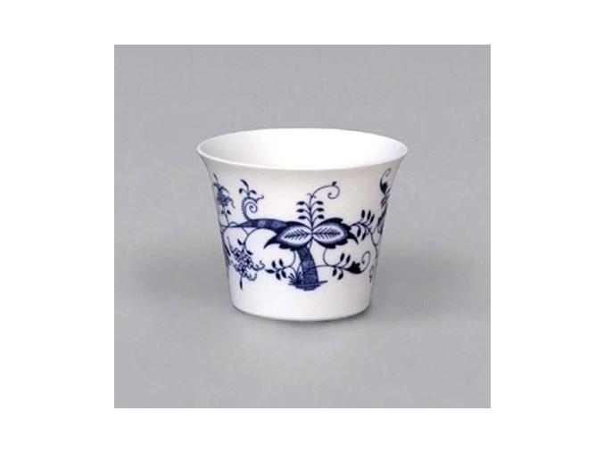 Průsvitka hladká 7,9 cm, cibulák, Český porcelán