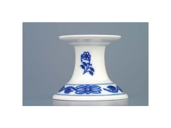 Svícen 1991 bez ouška 6 cm, cibulák, Český porcelán