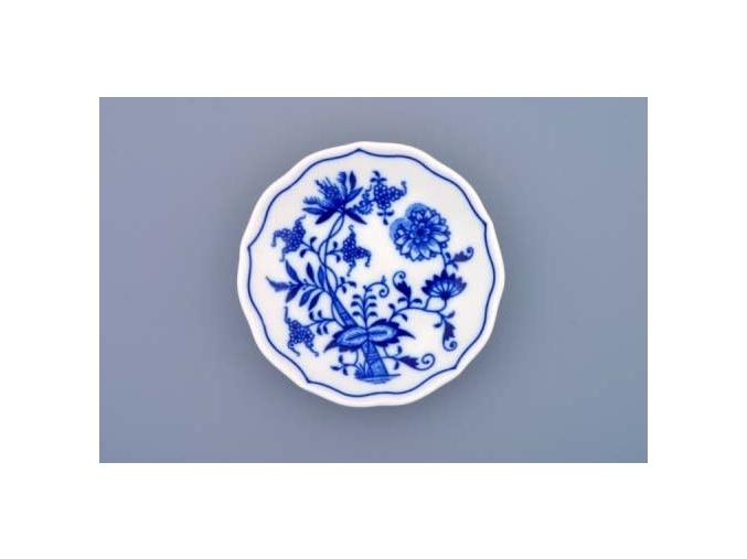 Podšálek 11 cm, cibulák, Český porcelán
