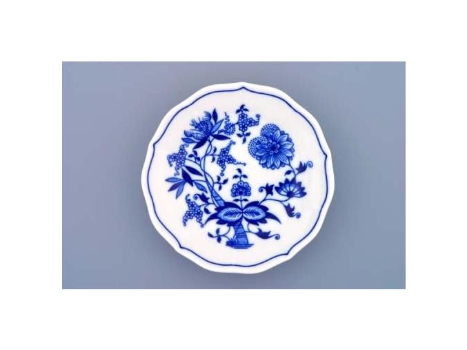 Podšálek 13 cm, cibulák, Český porcelán