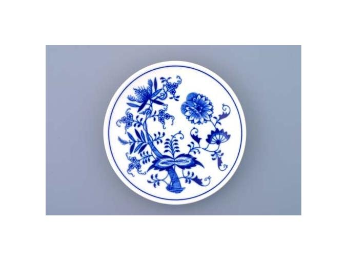 Podšálek Baňák 15 cm, cibulák, Český porcelán