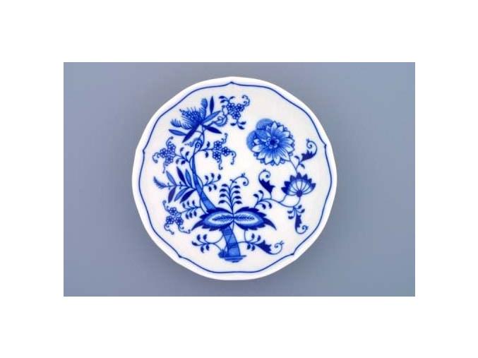 Podšálek 15,5 cm, cibulák, Český porcelán