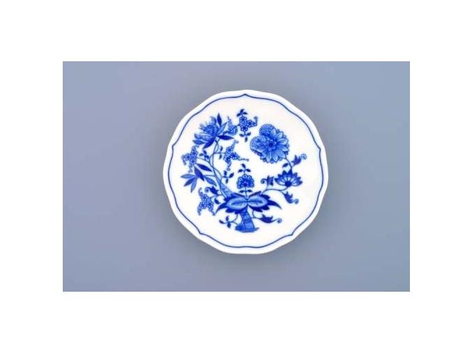 Podšálek zrcadlový 13 cm, cibulák, Český porcelán