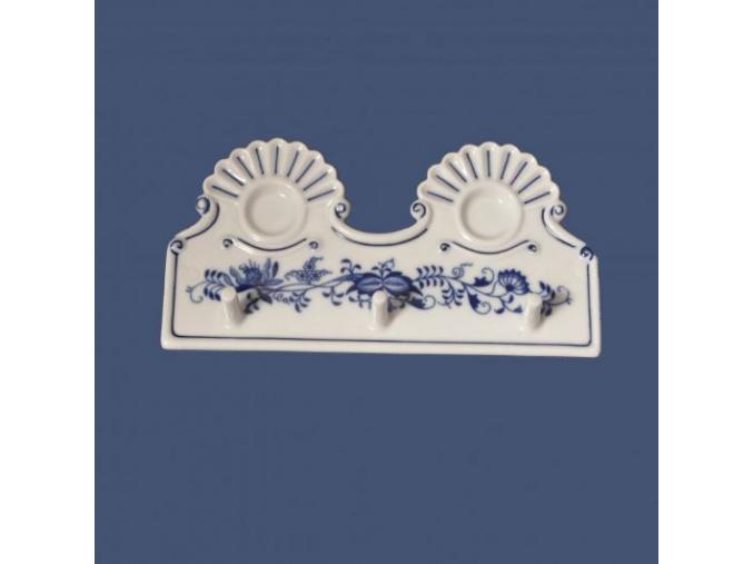 Kuchyňský věšák, 180 x 90 cm, cibulák, Český porcelán