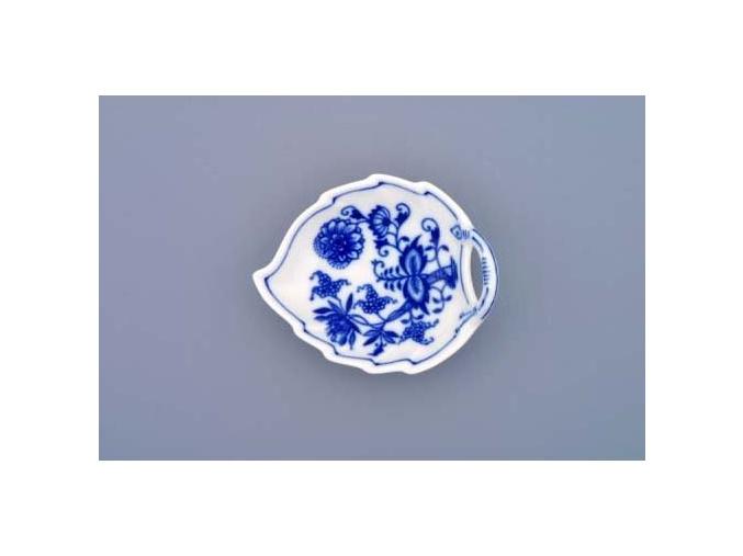 Mísa list, 10,5 cm, cibulák, Český porcelán