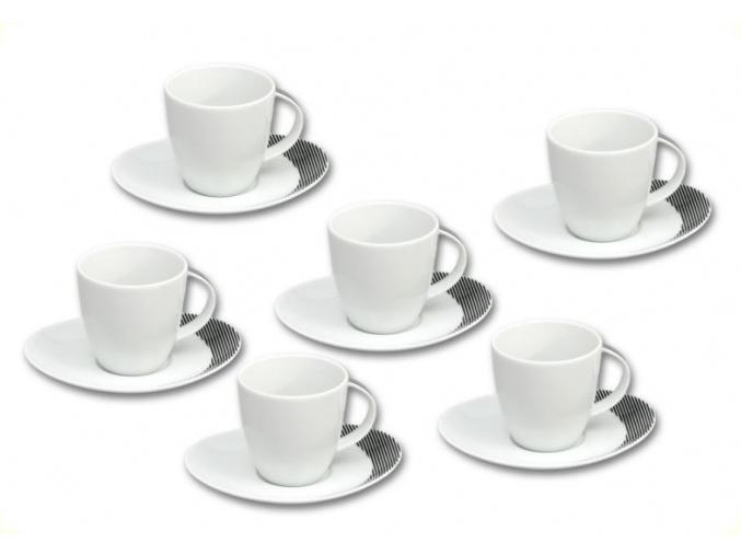 Loos salky a podsalky kavove cerne prouzky thun