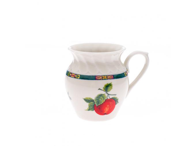 Alba, hrnek, 0,25 l, ovoce, slonová kost, český porcelán, Leander