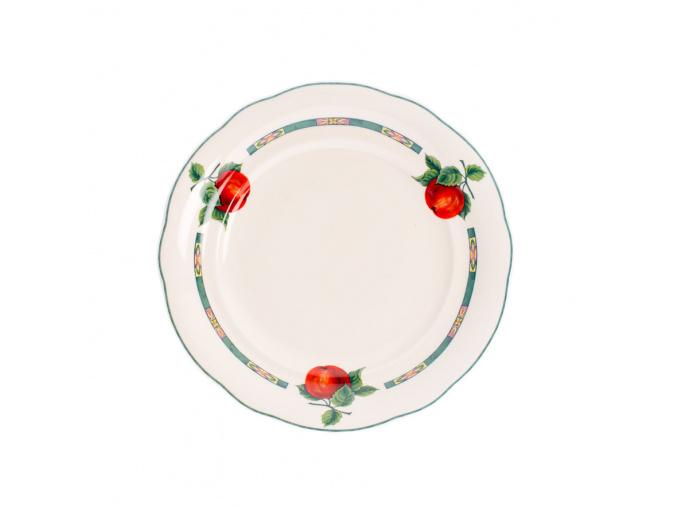 Mary-Anne, talíř dezertní praporový, 19 cm, český porcelán, Leander