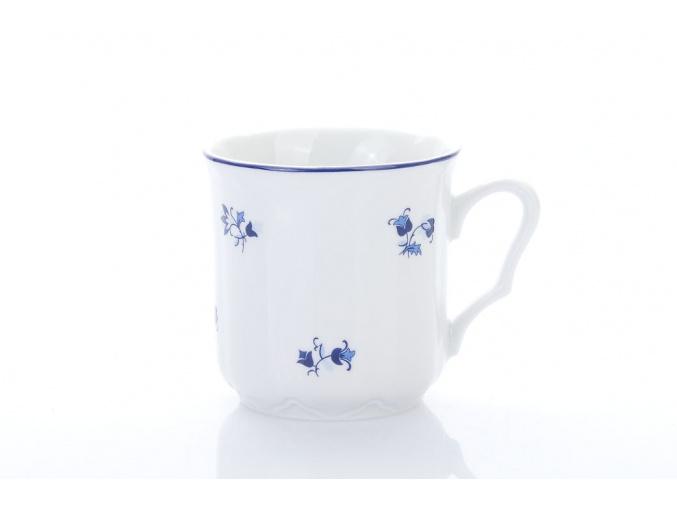 porcelánový hrnek karel v modré házence Český porcelán