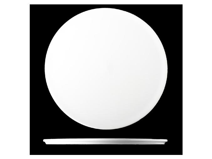 Talíř dezertní 17 cm, bílý porcelán, Pureline, Lilien