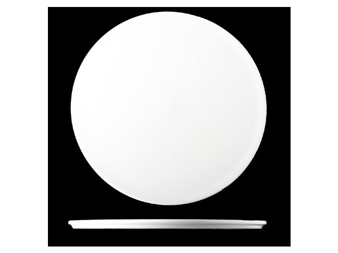 Talíř mělký 21 cm, bílý porcelán, Pureline, Lilien