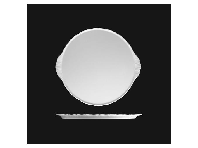 Talířek na dort 17 cm, bílý porcelán, Verona, G. Benedikt