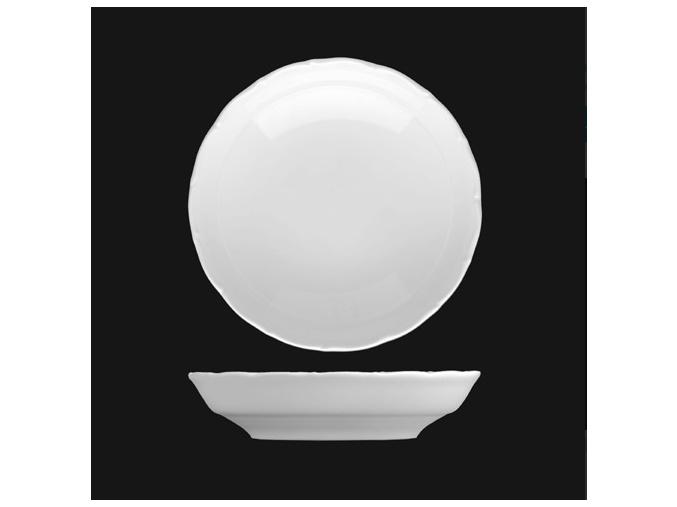 Miska kompotová 19 cm, bílý porcelán, Verona, G. Benedikt