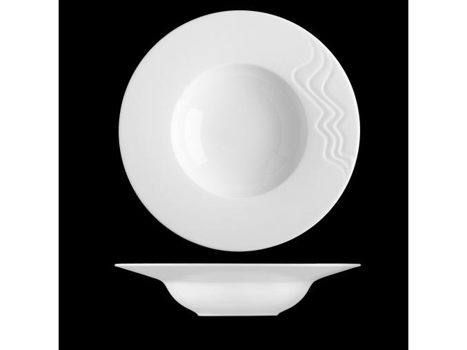 Nová Melodie, talíř na těstoviny, 29 cm, G. Benedikt