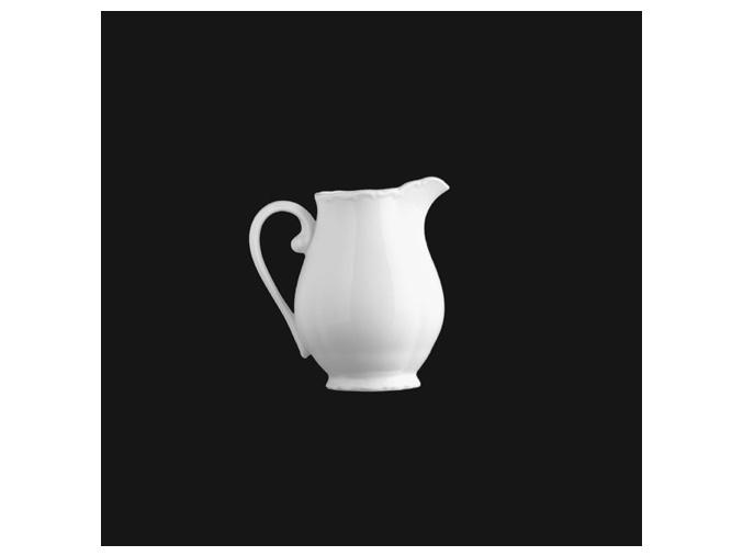 Mlékovka vysoká 250 ml, bílý porcelán, Verona, G. Benedikt