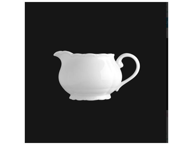 Mlékovka 350 ml, bílý porcelán, Verona, G. Benedikt