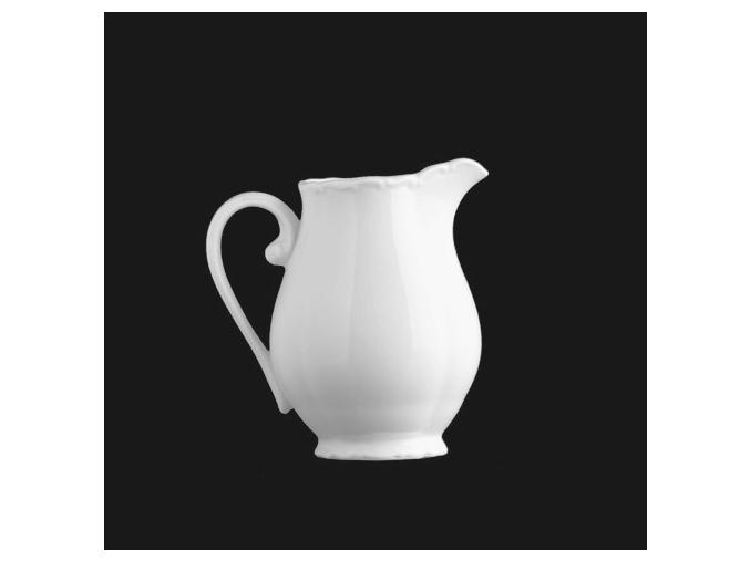 Mlékovka vysoká 350 ml, bílý porcelán, Verona, G. Benedikt