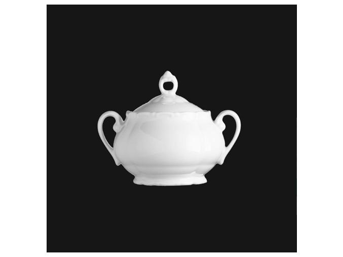 Cukřenka malá 250 ml, bílý porcelán, Verona, G. Benedikt