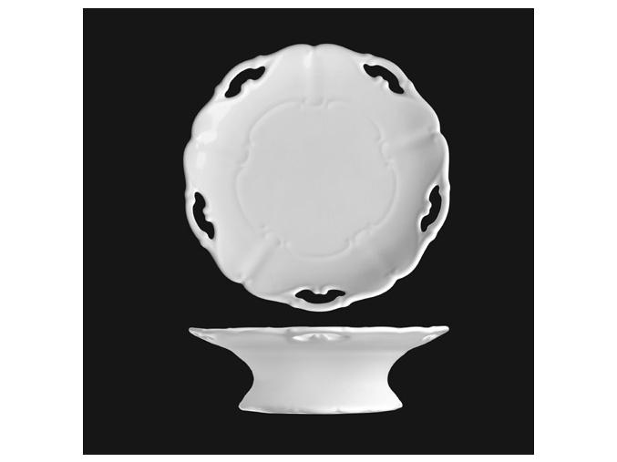 Miska na bonbony 19 cm, bílý porcelán, Verona, G. Benedikt