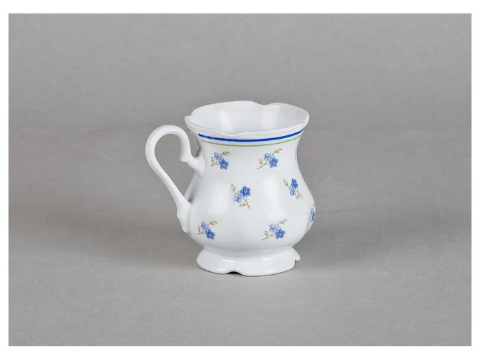 Mary-Anne, hrnek, český porcelán, 0,25 l, pomněnky, Leander