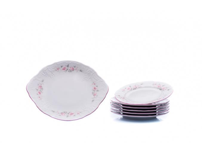 kolacova souprava bernadotte ruzicky thun porcelanovy svet