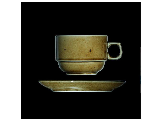 Šálek s podšálkem 250 ml, český porcelán, Country Range, G. Benedikt