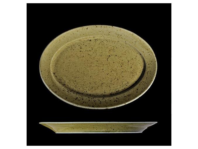 Podnos oválný 32 cm, český porcelán, Country Range, G. Benedikt