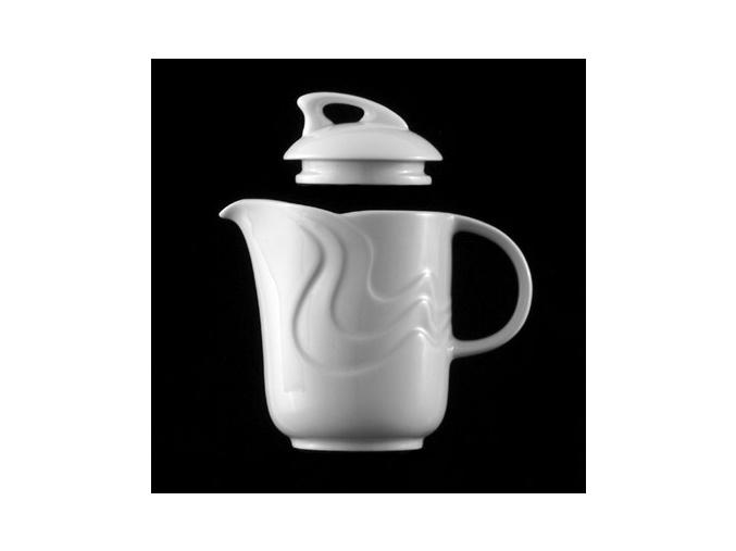 Konvice kávová 1,06 l, bílý porcelán, Melodie, G. Benedikt