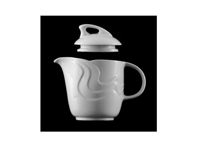 Konvice čajová 1,12 l, bílý porcelán, Melodie, G. Benedikt