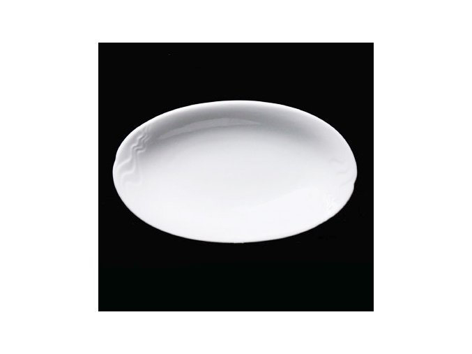 Mísa přílohová 22x13 cm, bílý porcelán, Melodie, G. Benedikt