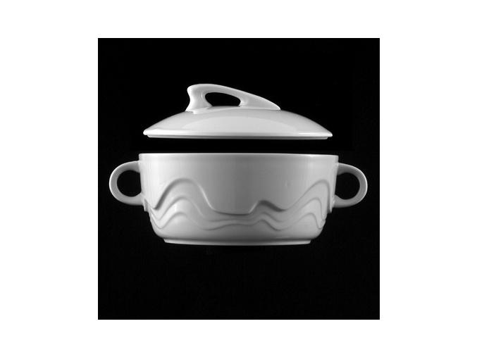 Mísa polévková 1,8 l, bílý porcelán, Melodie, G. Benedikt