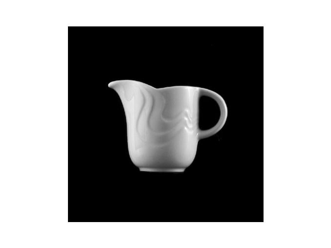 Mlékovka 100 ml, bílý porcelán, Melodie, G. Benedikt