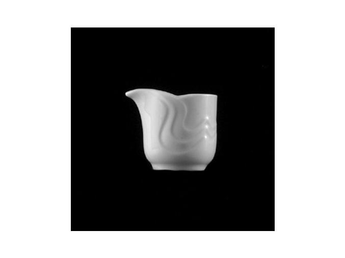 Mlékovka bez ouška 30 ml, bílý porcelán, Melodie, G. Benedikt