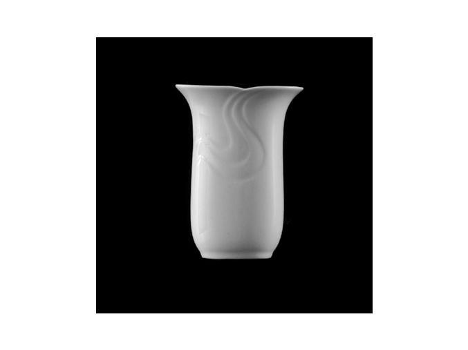 Váza 13 cm, bílý porcelán, Melodie, G. Benedikt