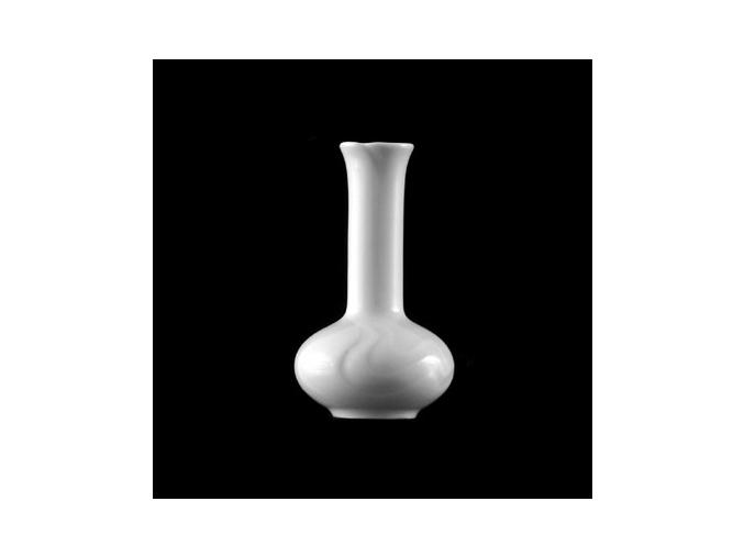 Vázička 12 cm, bílý porcelán, Melodie, G. Benedikt