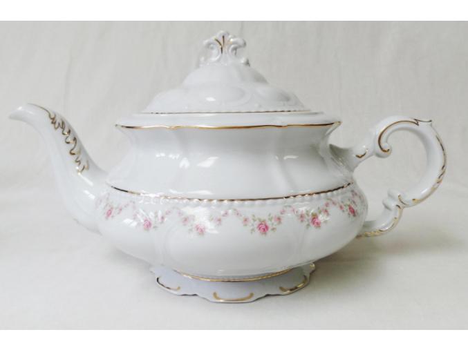 růžicky zlatá linka čajová konvice