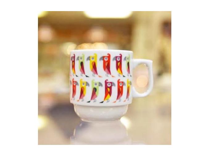 hrnek hugo papousci cesky porcelan porcelanovy svet