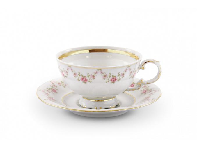 salek s podsalkem girlanda z ruzi leander porcelanovy svet