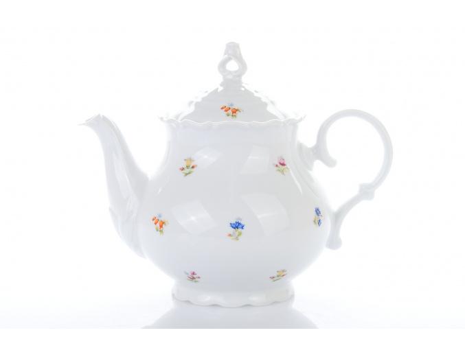 cajova konvice 1200 ml ophelia hazenka porcelanovy svet