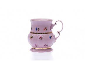 porcelánový hrnek Sonáta 350 ml růžový porcelán Leander