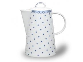 modre tečky tom kavova konvice