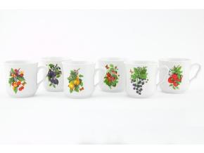 hrnky karel ovoce sada porcelanovy svet