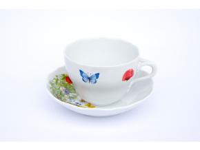 salek s podsalkem louka a motyli porcelanovy svet