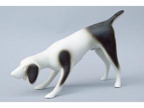 ohar kratkosrsty porcelanova figurka duchcovsky porcelan