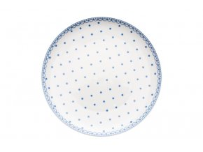 melky talir modre puntiky thun porcelanovy svet